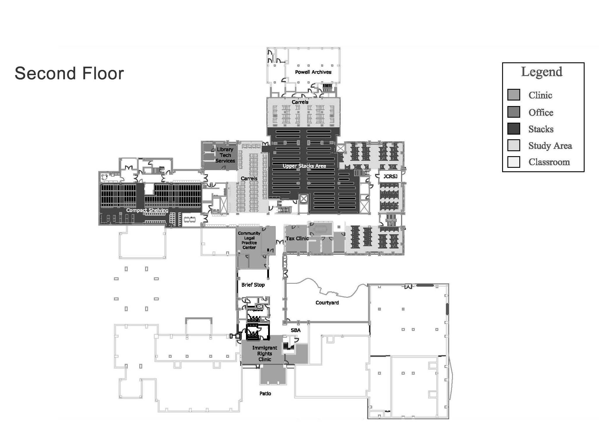 Depaul Lewis Center Floor Plan: Directions To W&L Law : Washington And Lee University